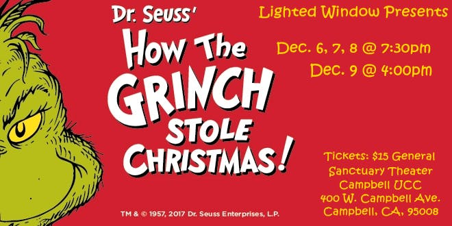 December, 2018 – How The Grinch Stole Christmas Play